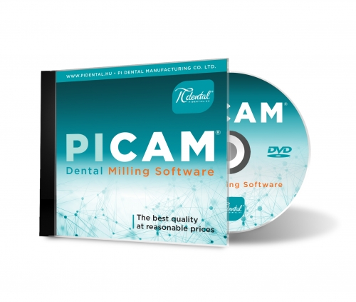 PiCAM Dental CAM software
